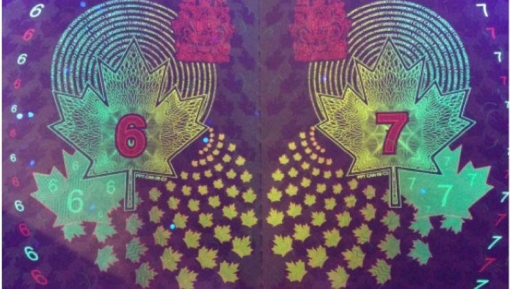 Les merveilles cachées du nouveau passeport canadien