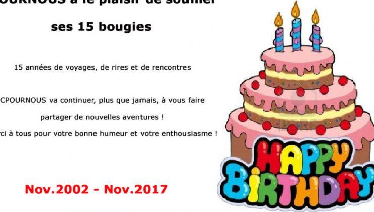 Happy Birthday CPOURNOUS !