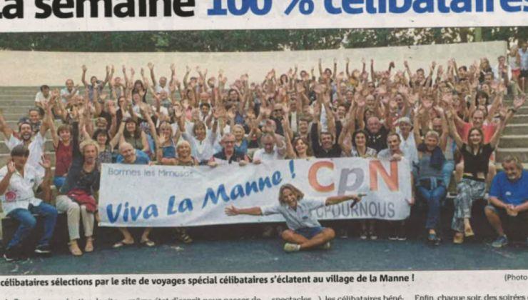 Témoignage : J'ai passé une semaine avec 120 célibataires à Bormes-les-Mimosas