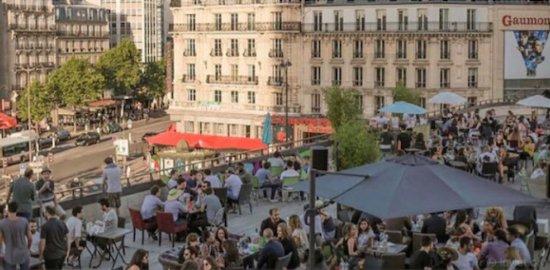 Paris - Afterwork Hamburger sur les toits de Paris célibataire