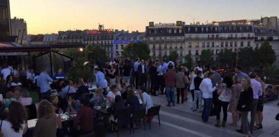 Paris - Afterwork BBQ sur les toits de Paris célibataire