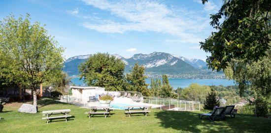 FRANCE MONTAGNE Les balcons du lac d'Annecy - été - Haute-Savoie