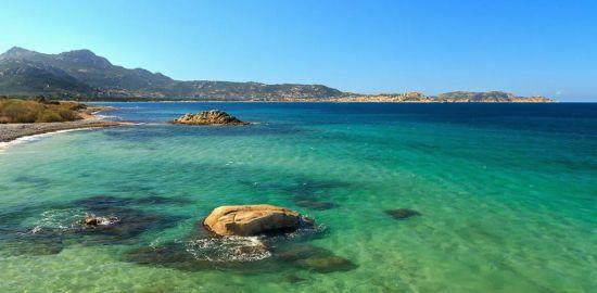 FRANCE MER Golfe de La Liscia - Corse