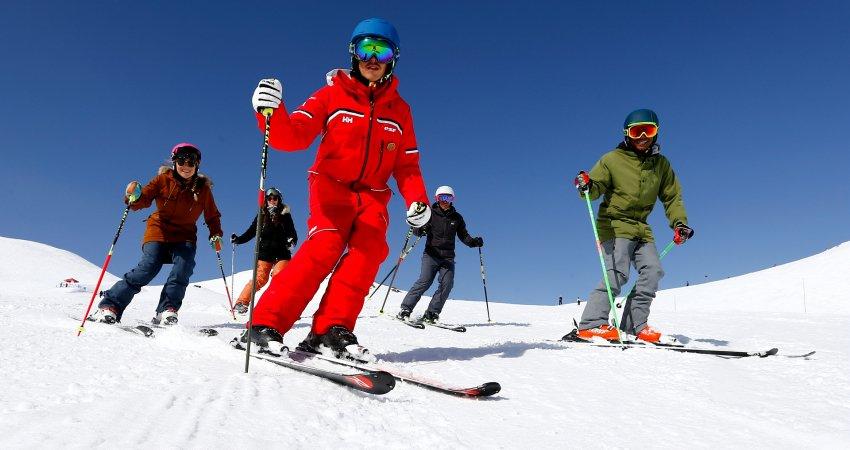 La Plagne ski montagne