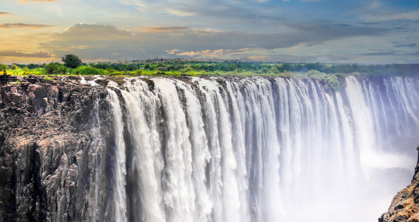 Afrique du sud chute d'eau